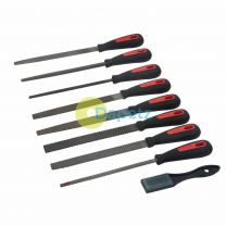 Quality Metal File & Rasp Set 9pce Mechanical Engineering Tools Coarse & Fine