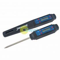 Digital Thermometer Pocket Probe Size Temp Gauge - 50C To 125C Temperature