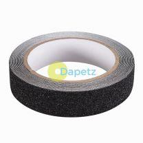 Anti-Slip Tape 24mm X 5M Black Sticky Roll Slipery Surfaces Ramps