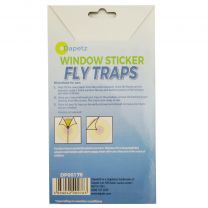 4 Fly Traps Fly Killer Sunflower Window Sticker Trap Stickers Insects