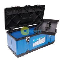 Toolbox 580 X 290 X 255mm Impact Resistant Plastic DIY Builder Workshop