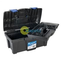 Toolbox 460 X 240 X 225mm Impact Resistant Plastic DIY Builder Workshop