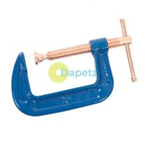 G-Clamp - 75mm Metal Woodwork DIY Carpentry Strong Corrosion Resistant