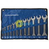 12Pce Open Ended Spanner Set 6mm - 32mm High Quality Fully Polished Finish