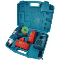 """24v Cordless Impact Wrench Gun 1/2"""" Drive With 2 Twin Batteries"""