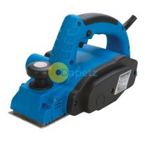 Heavy Duty 710W Electric Planer With Parallel And Rebate Guides Dust Bag