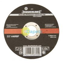 Heavy Duty Multipurpose Slitting Disc Flat 115 X 1 X 22.2mm Premium Quality