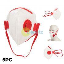 5 X FFP3 Paint Spray Masks - Complies With EN149-2001