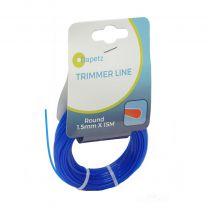 1.5mm x 15m Blue Trimmer Strimmer Line Wire Cord Flymo/Bosch