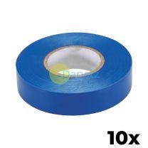 10 x PVC Insulation Electrical Tape Flame Retardent Blue