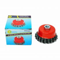 """Twist Knot Wire Wheel Cup Brush 3"""" M14 for 4.5"""" 115mm 9"""" Angle Grinder"""