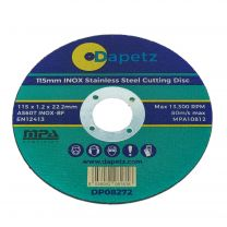 1 x 115mm Super Thin 1.2mm Blade Metal Cutting Discs for Stainless Steel Slitting Disc