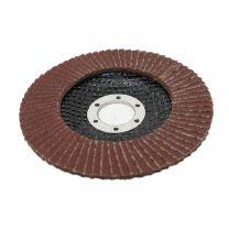 115mm 4.5'' 120 Grit 1 PC Angle Grinder Aluminium Oxide FLAP DISC Grinding Wheels