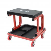 Mechanics Padded Creeper Trolley Seat for Car Van Garage Tool - Workshop Stool New