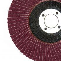 10 X Flap Sanding Discs 115mm 60 120 Grit Zirconium Oxide 4.5