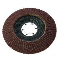 10 X Flap Sanding Discs 115mm 60 80 Grit Aluminium Oxide 4.5