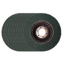 """10 X Flap Sanding Discs 115mm 40 60 Grit Zirconium Oxide 4.5"""" Angle Grinder Mix"""