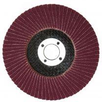 """10 X Flap Sanding Discs 115mm 60 120 Grit Zirconium Oxide 4.5"""" Angle Grinder Mix"""